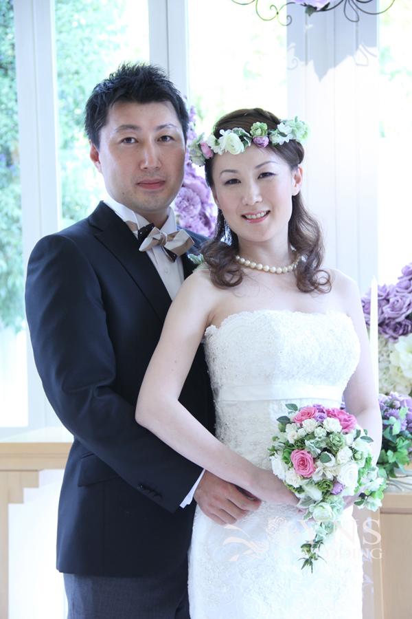 8ef0b55b70a50 421-432 お客様の声・ウェディングドレス・タキシード着用のお写真の一覧 ...